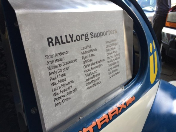 Rally Supporters